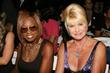 Star Jones Reynolds and Ivana Trump