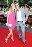 Sophie Falkiner and David Beckham