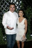 Eva Longoria and Chef Todd English