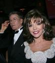 Calvin Klein and Joan Collins