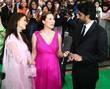 Aishwarya Bachchan, Myleene Klass and Abishak Bachchan IIFA...