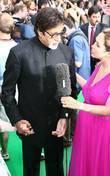 Amitabh Bachchan and Myleene Klass IIFA Bollywood Awards...