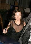 Anna Friel leaving Boujis Nightclub  London, England