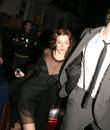Anna Friel leaving Boujis Nightclub with a mystery...