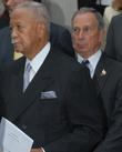 David Dinkins and Michael Bloomberg