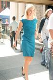 Cameron Diaz walks to her trailer after filming...