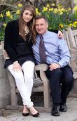 Camilla Hempleman-Adams with her father David Hempleman-Adams