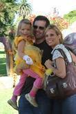 Paul Young, Cheryl Hines and daughter Catherine