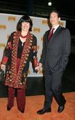 Christiane Amanpour and James Rubin