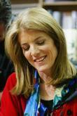 Caroline Kennedy Signs Copies Of Her New Book 'a Family Christmas' At Politics