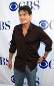 Charlie Sheen CBS summer press tour 'Stars Party...