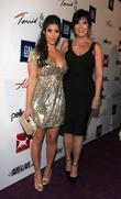 Kim Kardashian and Mother Kris Jenner