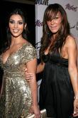 Kim Kardashian and Robin Antin