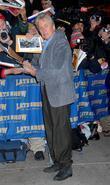 Michael Douglas and David Letterman