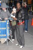 Wyclef Jean and David Letterman