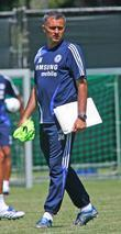 Jose Mourinho Chelsea Football Club Training Camp at...
