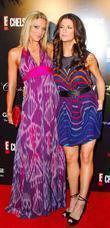 Debbie Matenopoulos and Samantha Harris