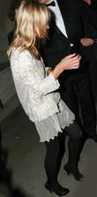 Kate Moss and Jamie Hince Leave China Tang