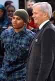 Chris Brown and Tom Brokaw