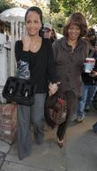 Christina Milian and Her Mother Go Christmas Shopping At Kitson