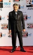 Andrea Bocelli The Classical Brit Awards 2008 held...