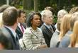 Condoleezza Rice and Jack Straw at the Rose...