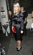Alex Curran attending her perfume launch party at...