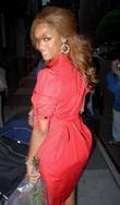 Tyra Banks leaving the CW11 Morning Show New...