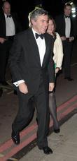 Sarah Brown and David Beckham
