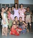 Adriana Lima and Catalina Sandino Dance For Tolerance...