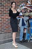 Sarah Silverman and David Letterman