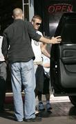 David Beckham and his son Brooklyn