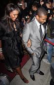 Usher and Tameka Foster