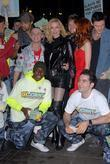 Denise Van Outen and the cast of Rent
