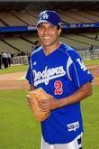 Oscar Nunez, Hollywood Stars Game At The Dodger Stadium