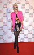 Agyness Deyn Elle Style Awards held at the...