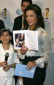 Eva Longoria and Edna Cerritos Of The Padres Program