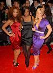 Amelle Berrabah, Keisha Buchanan and Heidi Range from...