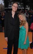Stephen Merchant and girlfriend