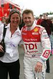Allan McNish and guest at the Goodwood Festival...