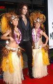 Russell Brand and Hula girls