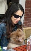 Fran Drescher and Her Dog Esther