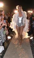 Annabelle Mandeng f.rau Becker Fashion Show at the...