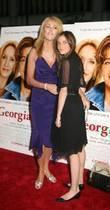 Ali Lohan and Dina Lohan New York film...