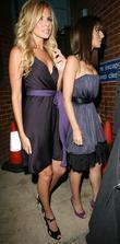 Nadine Coyle and Cheryl Cole
