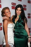 Adrienne Bailon and Kim Kardashian