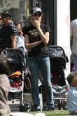 Heidi Klum, Family At The Grove and West Hollywood