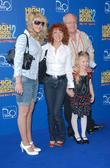 Bonnie Langford and family