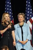 Chelsea Clinton, Barack Obama and Hillary Clinton