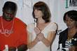 Alexandra Paul Celebrities promoting HIV testing in the...